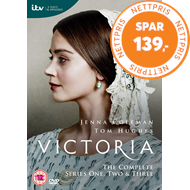 Produktbilde for Victoria - Sesong 1-3 (UK-import) (BLU-RAY)