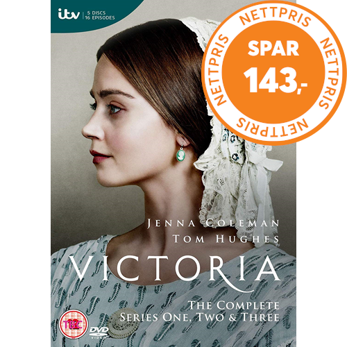 Victoria - Sesong 1-3 (UK-import) (DVD)