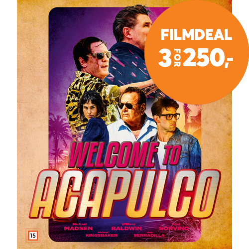 Welcome To Acapulco (BLU-RAY)