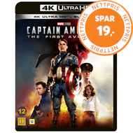 Produktbilde for Captain America 1 - The First Avenger (4K Ultra HD + Blu-ray)