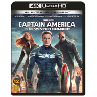 Captain America 2 - The Winter Soldier (4K Ultra HD + Blu-ray)