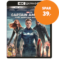 Produktbilde for Captain America 2 - The Winter Soldier (4K Ultra HD + Blu-ray)
