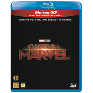 Captain Marvel (Blu-ray 3D + Blu-ray)