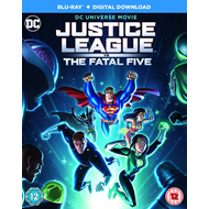 Justice League Vs The Fatal Five (UK-import) (BLU-RAY)