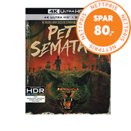 Produktbilde for Pet Sematary - 30th Anniversary Edition (UK-import) (4K Ultra HD + Blu-ray)