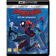 Produktbilde for Spider-Man: Into The Spider-Verse (2018) (4K Ultra HD + Blu-ray)