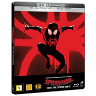 Produktbilde for Spider-Man: Into The Spider-Verse - Limited Steelbook Edition (2018) (4K Ultra HD + Blu-ray)