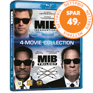 Produktbilde for Men In Black 1-4 (DK-import) (BLU-RAY)
