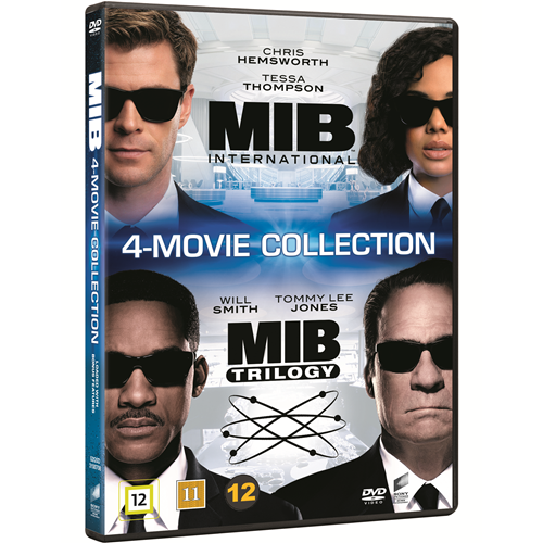 Men In Black 1-4 (DVD)