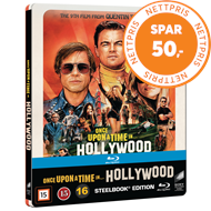 Once Upon A Time In Hollywood - Limited Steelbook Edition (BLU-RAY)