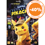 Produktbilde for Pokemon - Detective Pikachu (DVD)