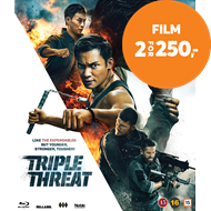 Produktbilde for Triple Threat (BLU-RAY)