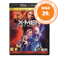 Produktbilde for X-Men: Dark Phoenix (4K Ultra HD + Blu-ray)