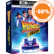 Produktbilde for Back To The Future - The Ultimate 4K Trilogy (DK-import) (4K Ultra HD + Blu-ray)