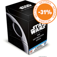 Produktbilde for Star Wars: Episode I-IX - The Skywalker Saga (UK-import) (BLU-RAY)