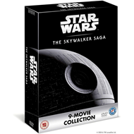 Produktbilde for Star Wars: Episode I-IX - The Skywalker Saga (UK-import) (DVD)