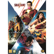 Produktbilde for DC Comics 4-Film Collection (DVD)