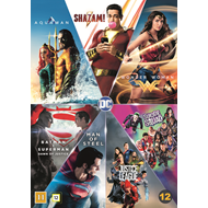 Produktbilde for DC Comics 7-Film Collection (DVD)