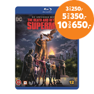 Produktbilde for The Death And Return Of Superman (BLU-RAY)