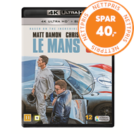 Produktbilde for Le Mans '66 (Ford V Ferrari) (4K Ultra HD + Blu-ray)