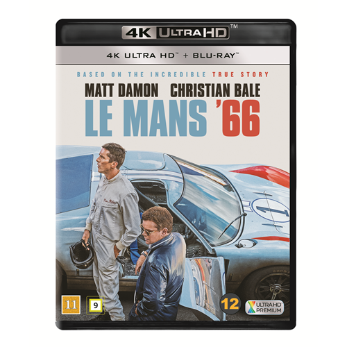 Le Mans '66 (Ford V Ferrari) (4K Ultra HD + Blu-ray)