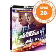 Produktbilde for The Fast And The Furious 1 (2001) - Limited Steelbook Edition (4K Ultra HD + Blu-ray)