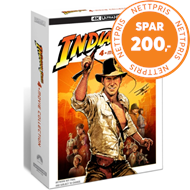 Produktbilde for Indiana Jones - The 4 Movie Collection (4K ULTRA HD)