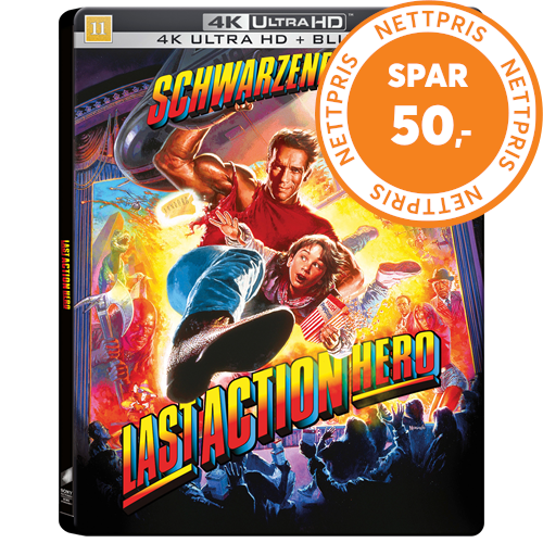 Last Action Hero (1993) / Den Siste Actionhelten - Limited Steelbook Edition (4K Ultra HD + Blu-ray)