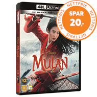 Produktbilde for Mulan (2020) (4K Ultra HD + Blu-ray)