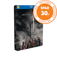 Produktbilde for Zack Snyder's Justice League - Limited Steelbook Edition (BLU-RAY)
