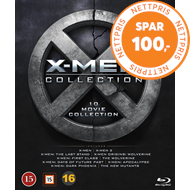 Produktbilde for X-Men: 10 Movie Collection (BLU-RAY)