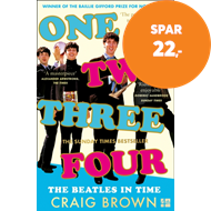 Produktbilde for One Two Three Four: The Beatles in Time (BOK)
