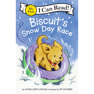 Produktbilde for Biscuit's Snow Day Race (BOK)