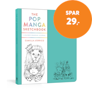 Produktbilde for The Pop Manga Sketchbook - A Guided Drawing Journal (BOK)