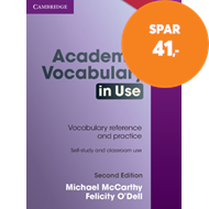 Produktbilde for Academic Vocabulary in Use Edition with Answers (BOK)