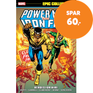 Produktbilde for Power Man & Iron Fist Epic Collection: Heroes For Hire (BOK)