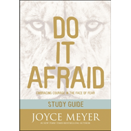 Produktbilde for Do It Afraid Study Guide (Study Guide) - Embracing Courage in the Face of Fear (BOK)
