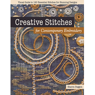 Produktbilde for Creative Stitches for Contemporary Embroidery - Visual Guide to 120 Essential Stitches for Stunning (BOK)