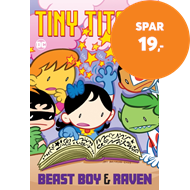 Produktbilde for Tiny Titans: Beast Boy and Raven (BOK)