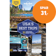 Produktbilde for Lonely Planet USA's Best Trips (BOK)