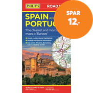 Produktbilde for Philip's Spain and Portugal Road Map (BOK)