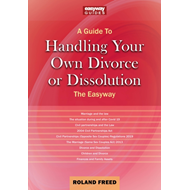 Produktbilde for A Guide To Handling Your Own Divorce Or Dissolution - The Easyway (BOK)