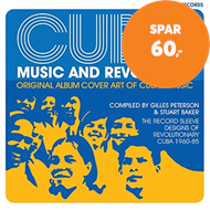 Produktbilde for Cuba: Music and Revolution - Original Album Cover Art of Cuban Music, The Record Sleeve Designs of R (BOK)