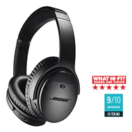 Bose QuietComfort 35 II Wireless Headphones - Black (HEADSET)