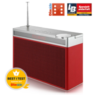 Geneva Touring L - Red (FM/DAB+/Bluetooth)