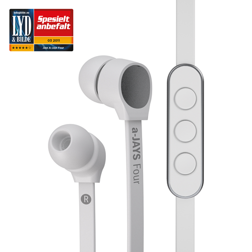 JAYS - a-JAYS Four iPhone Headset White (HEADSET)
