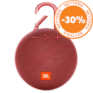 Produktbilde for JBL Clip 3 - Red (HØYTTALER)