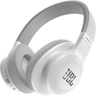JBL E55BT Wireless Around-ear White (HEADSET)