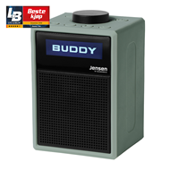Jensen Scandinavia Buddy Lite - Green (FM/DAB+/Bluetooth)