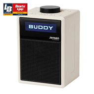 Jensen Scandinavia Buddy Lite - White (FM/DAB+/Bluetooth)